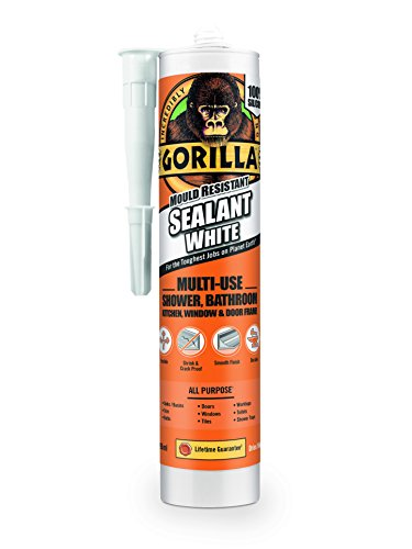 Gorilla Mould Resistant Sealant White 295ml