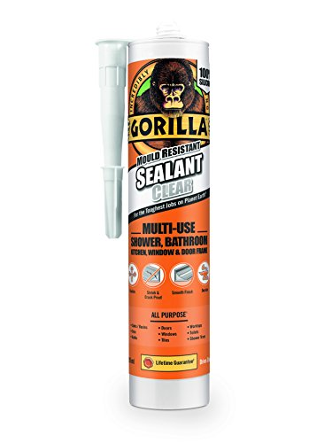 Gorilla Mould Resistant Sealant Clear 295ml