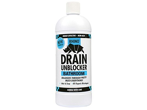 Kilrock Bathroom Heavy-Duty Drain Unblocker 1 Litre