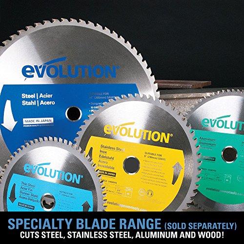 Evolution Metal Cutting Saw 180mm 1100w 240v