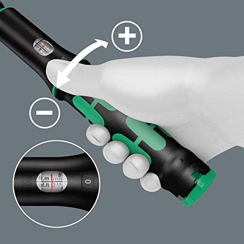 Wera Torque Wrench 1/4in 1-25Nm