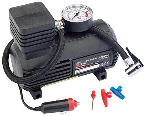 Draper 12v Mini Analogue Air Compressor (250psi Max.)