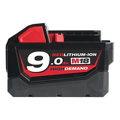 Milwaukee REDLITHIUM-ION™ Slide Battery Pack 18V 9.0Ah Li-Ion