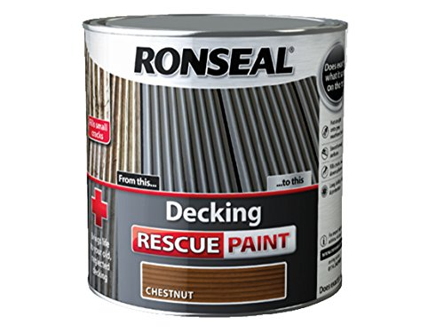 Ronseal Decking Rescue Paint Chestnut 2.5 Litre