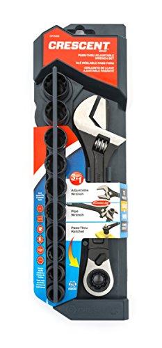 Crescent Pass-thru™ Adjustable Wrench Set 11 Piece