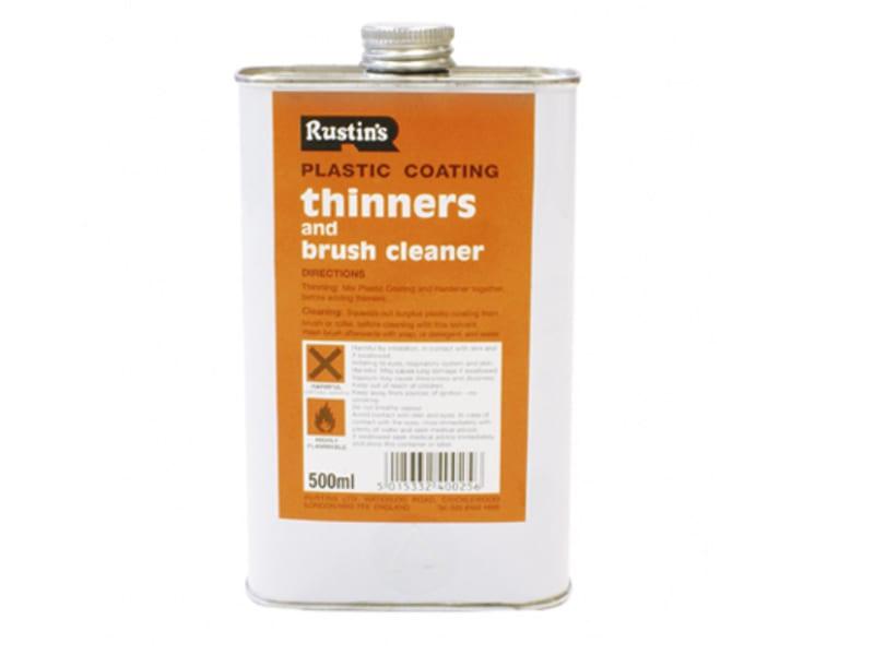 Rustins Plastic Coating Thinners 250ml
