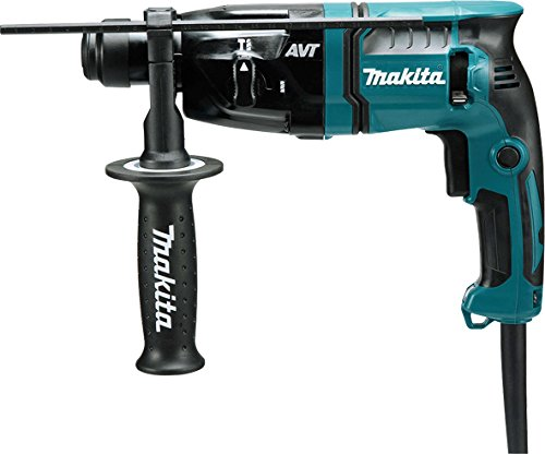 Makita Hr1841f/2 Sds Plus Avt Rotary Hammer, 470 W, 240 V, Blue, 18 Mm