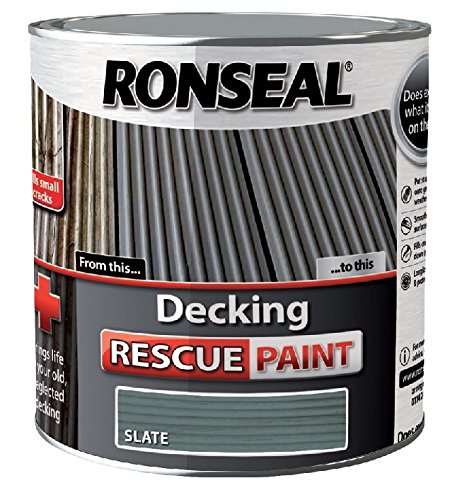 Ronseal Decking Rescue Paint Slate 5 Litre