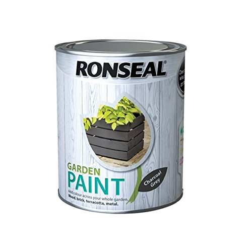 Ronseal Garden Paint Charcoal Grey 750ml