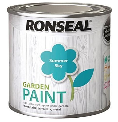 Ronseal Garden Paint Summer Sky 750ml