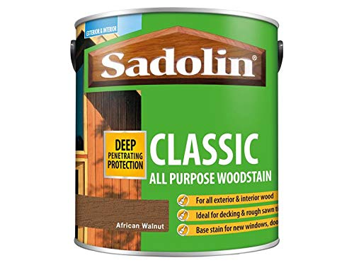Sadolin Classic Wood Protection African Walnut 2.5 Litre