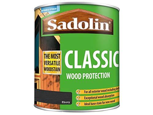Sadolin Classic All Purpose Woodstain Ebony 1 L
