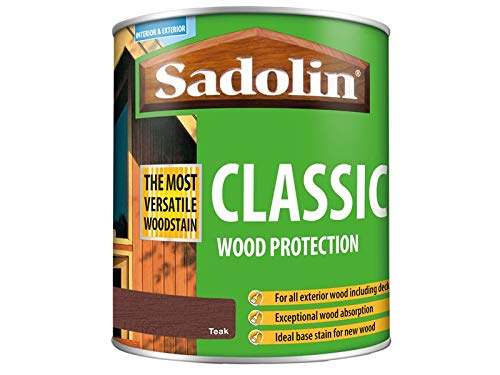 Sadolin Classic Wood Protection Teak 1 Litre