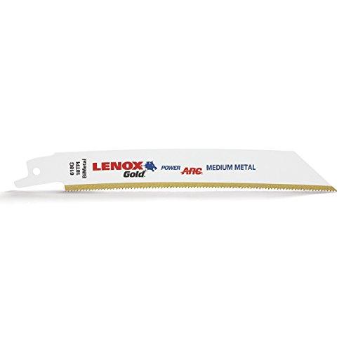 Lenox Gold® Metal Cutting Reciprocating Saw Blades 150mm 18 TPI (Pack 5)