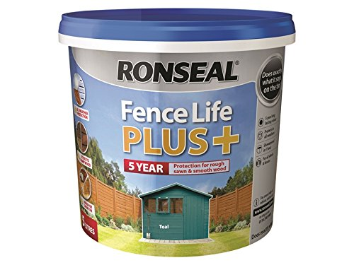 Ronseal Fence Life Plus+ Teal 5 Litre