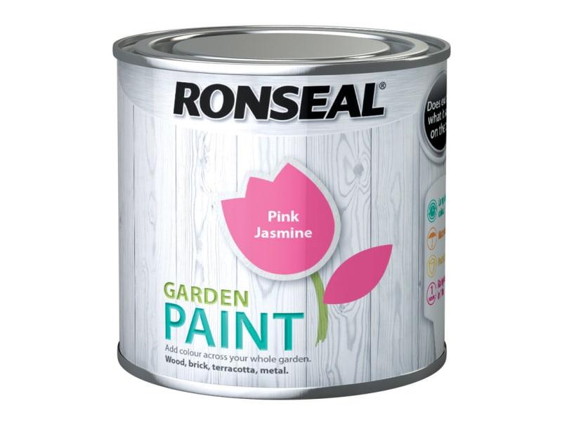 Ronseal Garden Paint Pink Jasmine 250ml