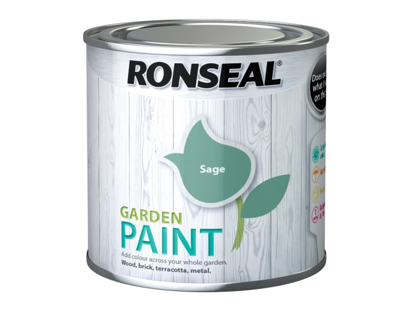 Ronseal Garden Paint Sage 250ml