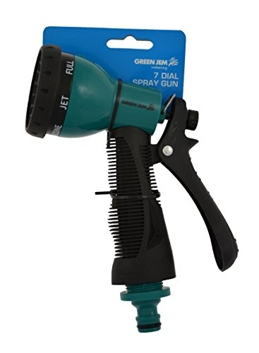 Green Jem 7 Dial Spray Gun With Cushion Grip