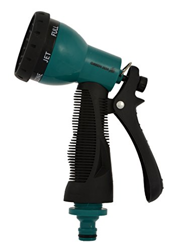 Green Jem 7 Dial Spray Gun With Cushion Grip