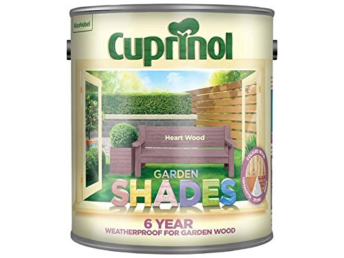 Cuprinol Garden Shades Heart Wood 2.5 Litre