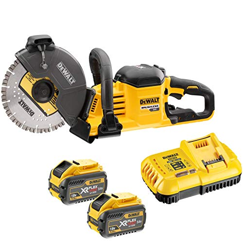 Dewalt FlexVolt XR Cordless Cut Off Saw 18/54V 2 x 9.0/3.0Ah Li-ion