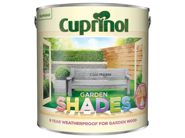 Cuprinol Garden Shades Cool Marble 2.5 Litre
