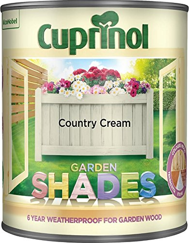 Cuprinol Garden Shades Country Cream 2.5 Litre