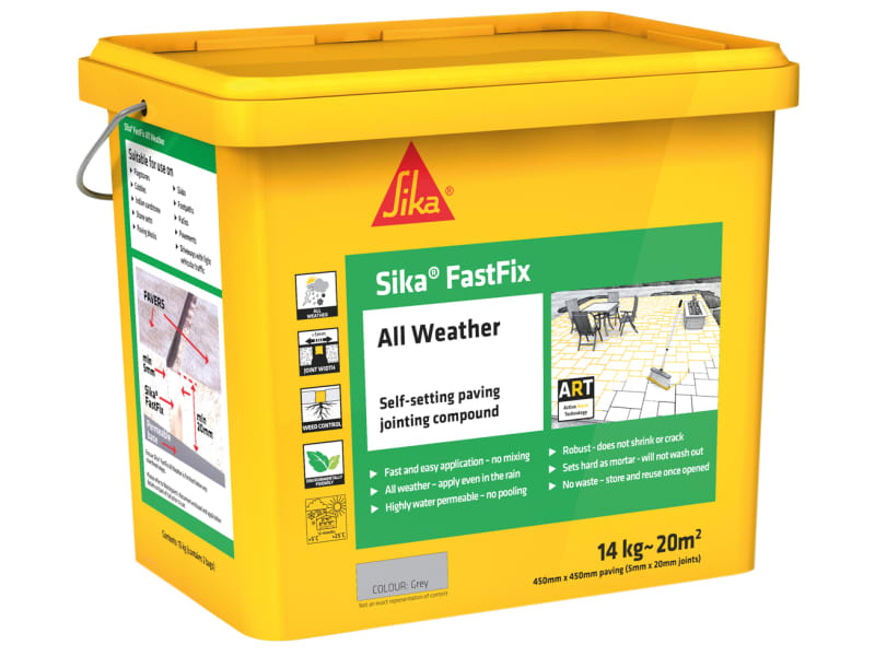 EverBuild Sika Fastfix All Weather Grey 14kg