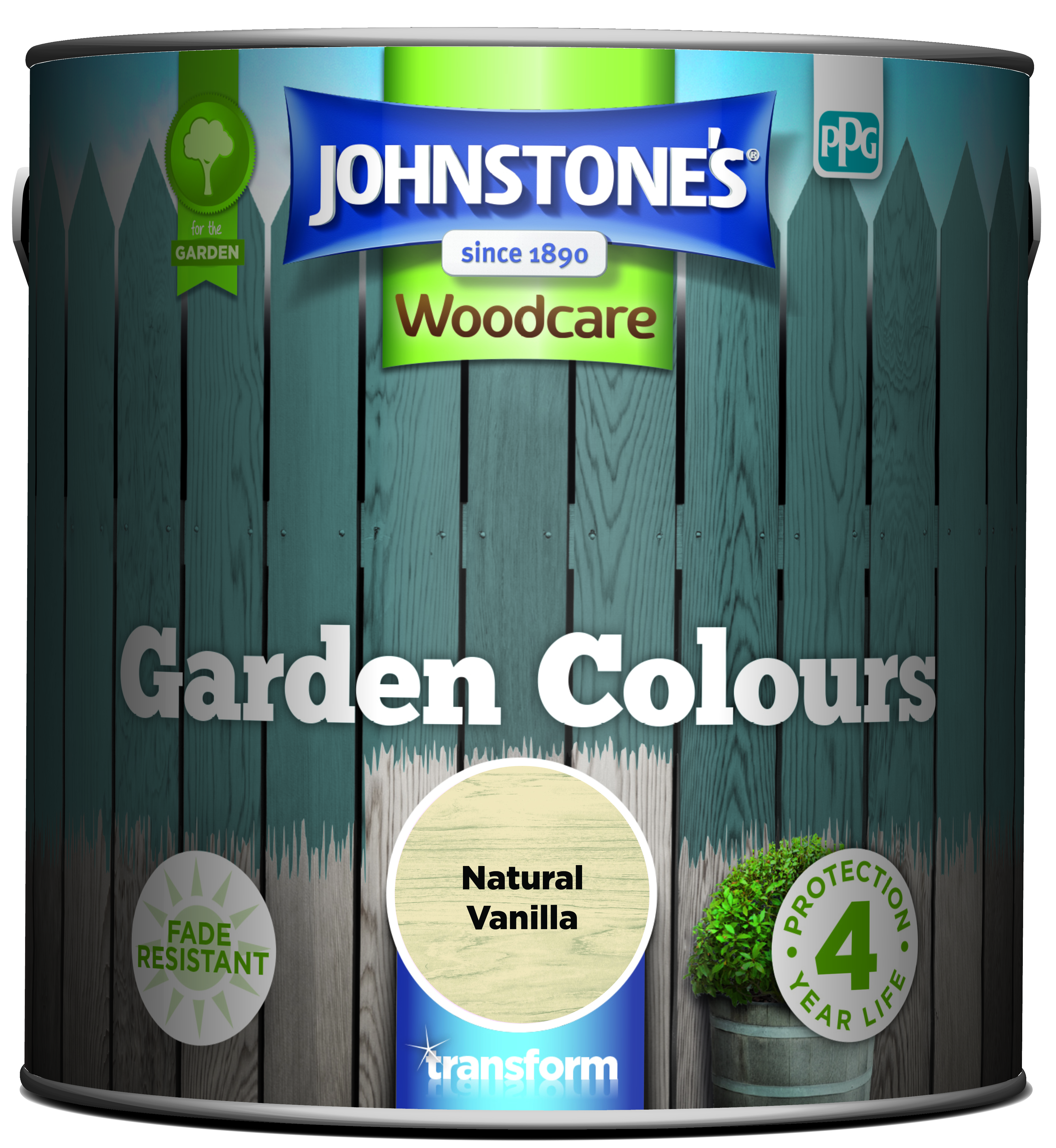 Johnstone's Garden Colours Natural Vanilla 2.5l