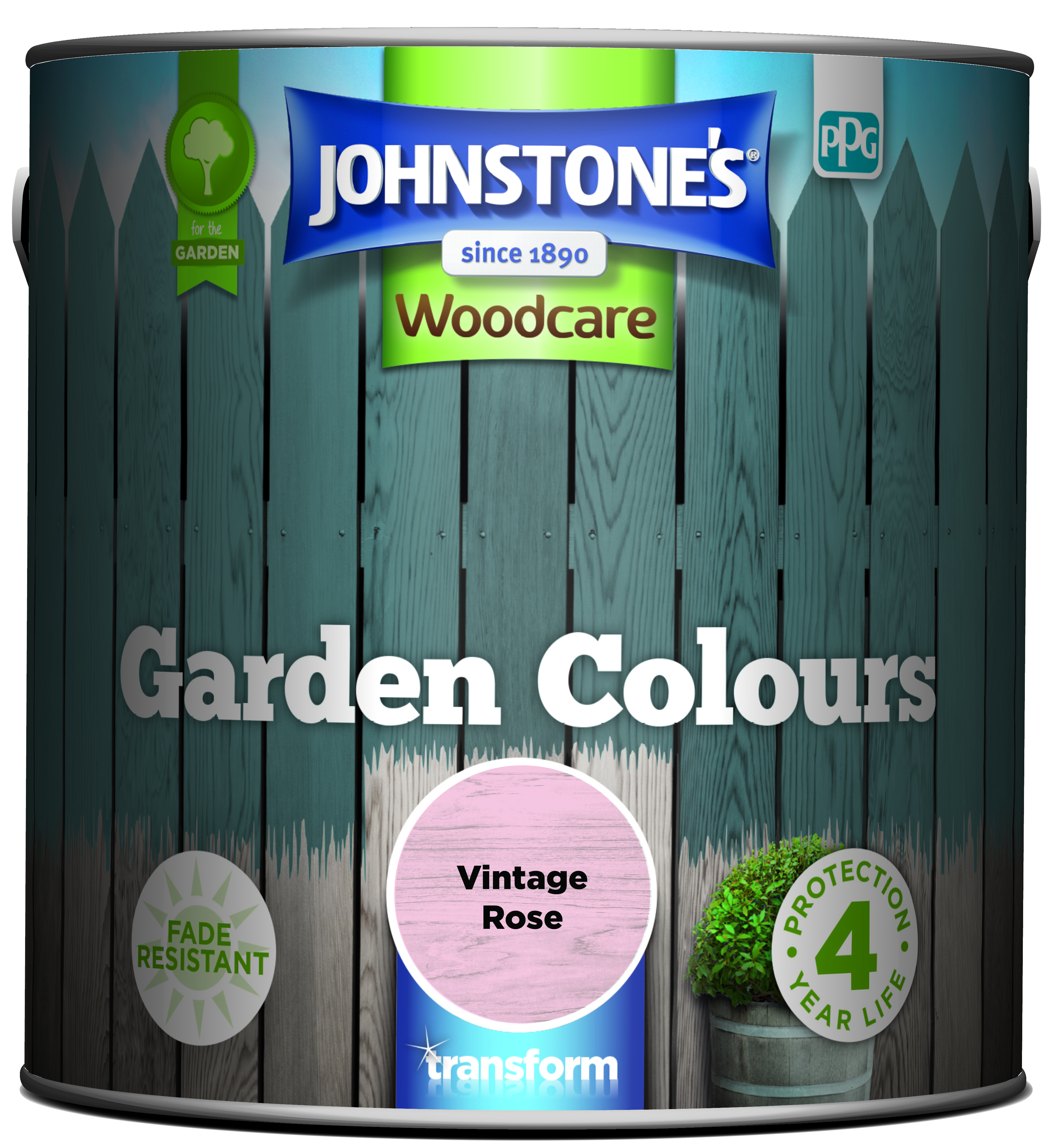 Johnstone's Garden Colours Vintage Rose 2.5l