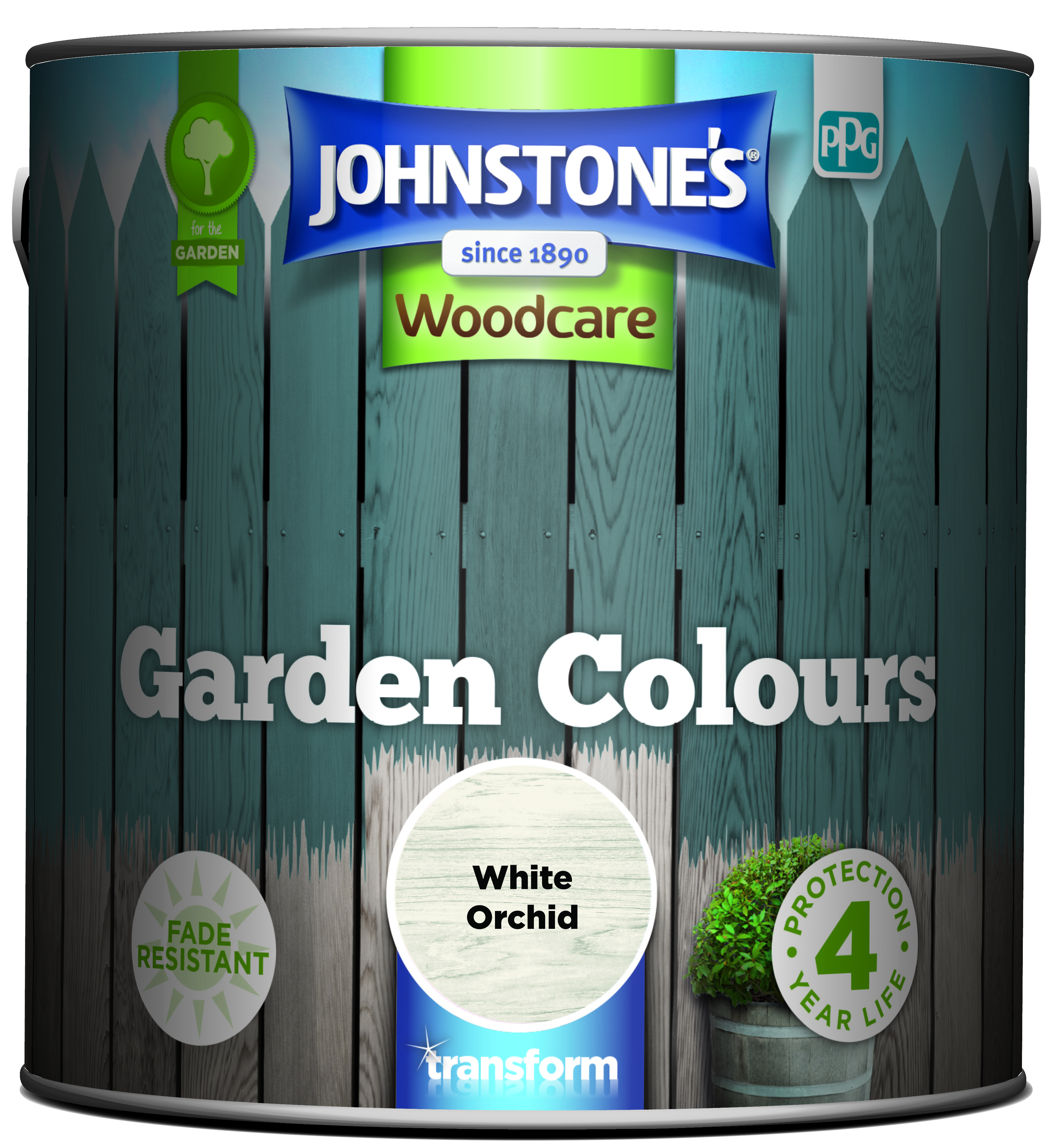 Johnstone's Garden Colours White Orchid 2.5l