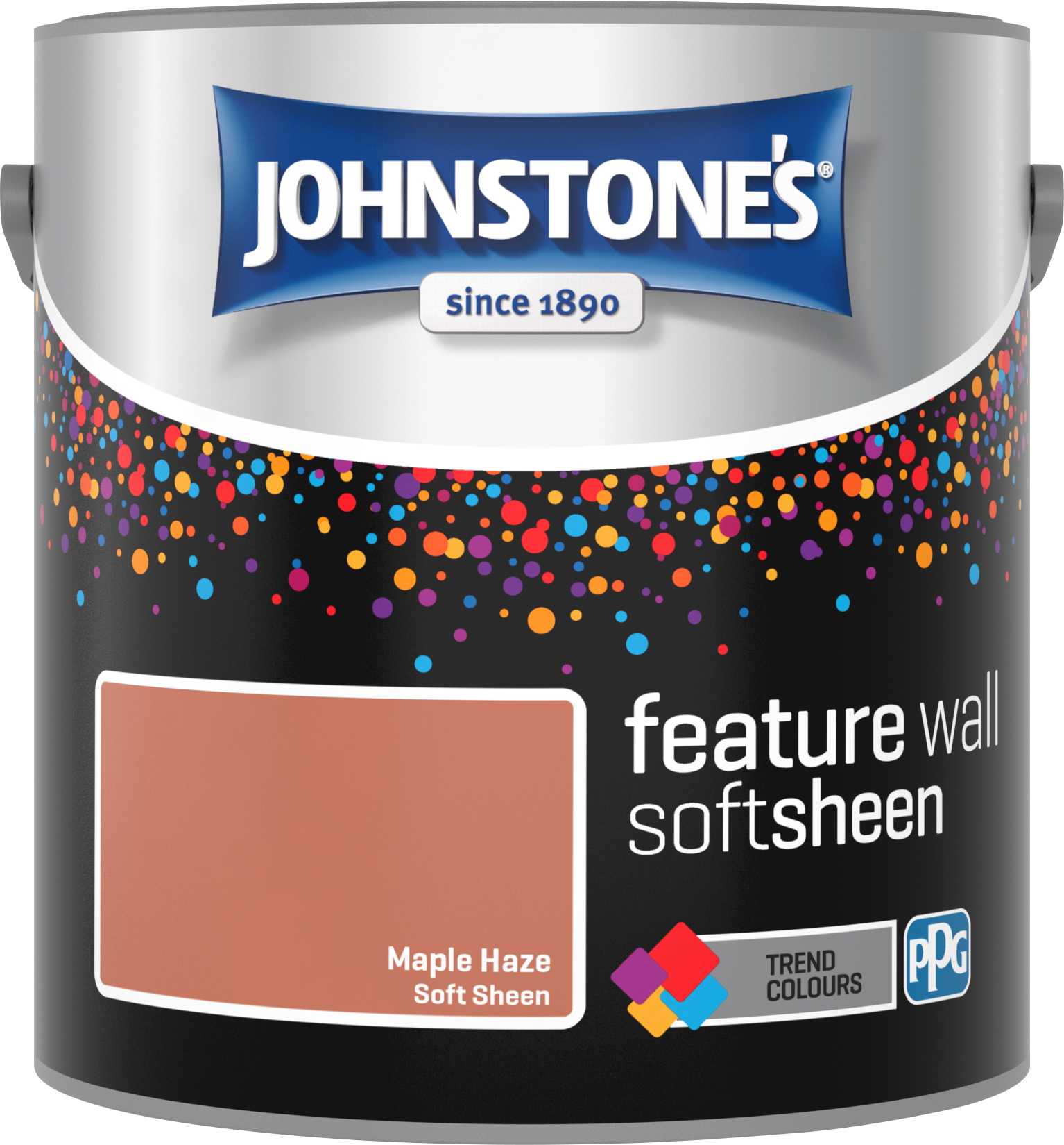 Johnstone's 2.5 Litre Feature Wall Soft Sheen Emulsion Paint - Maple Haze