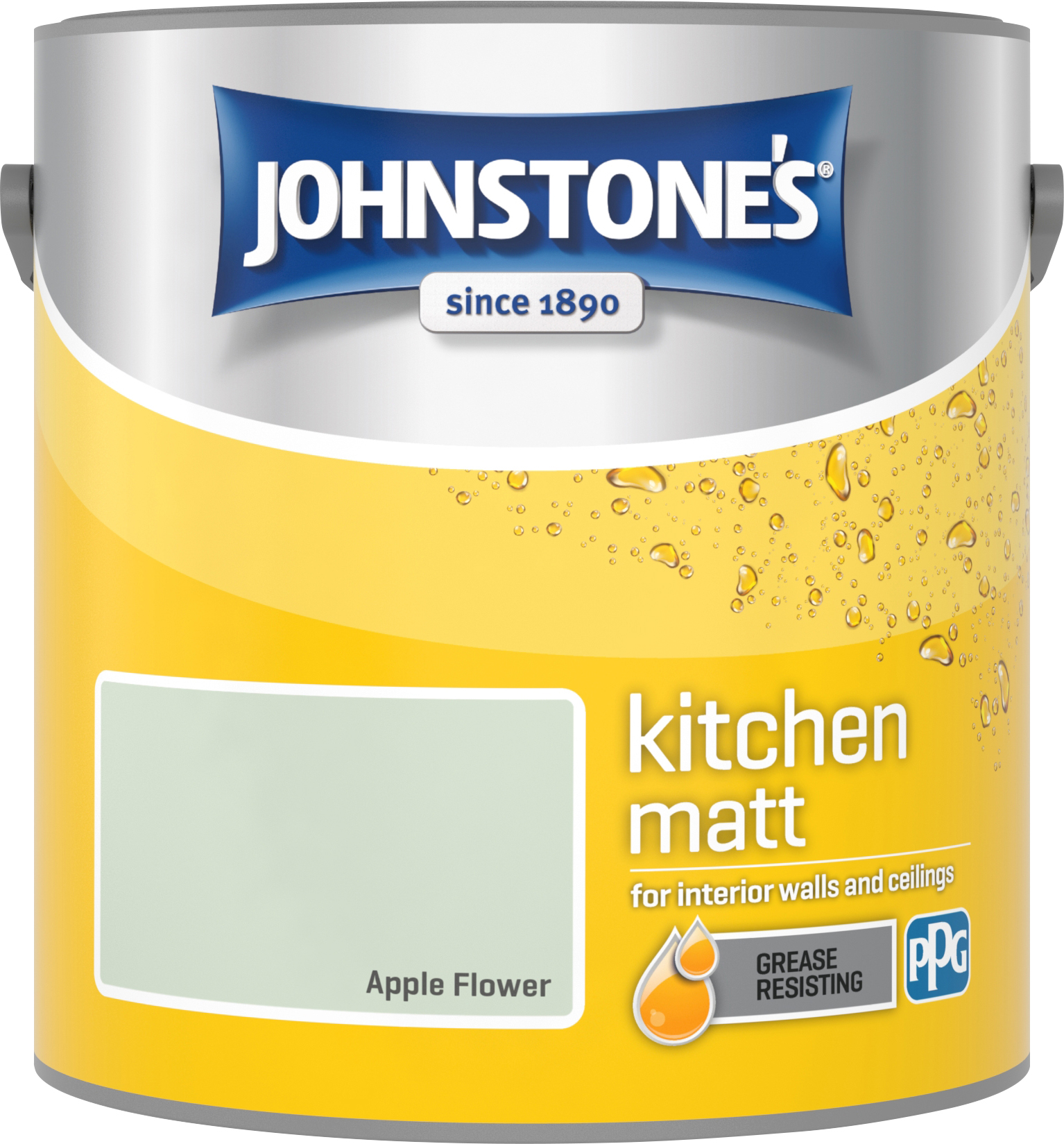 Johnstone's 2.5 Litre Kitchen Paint - Apple Flower