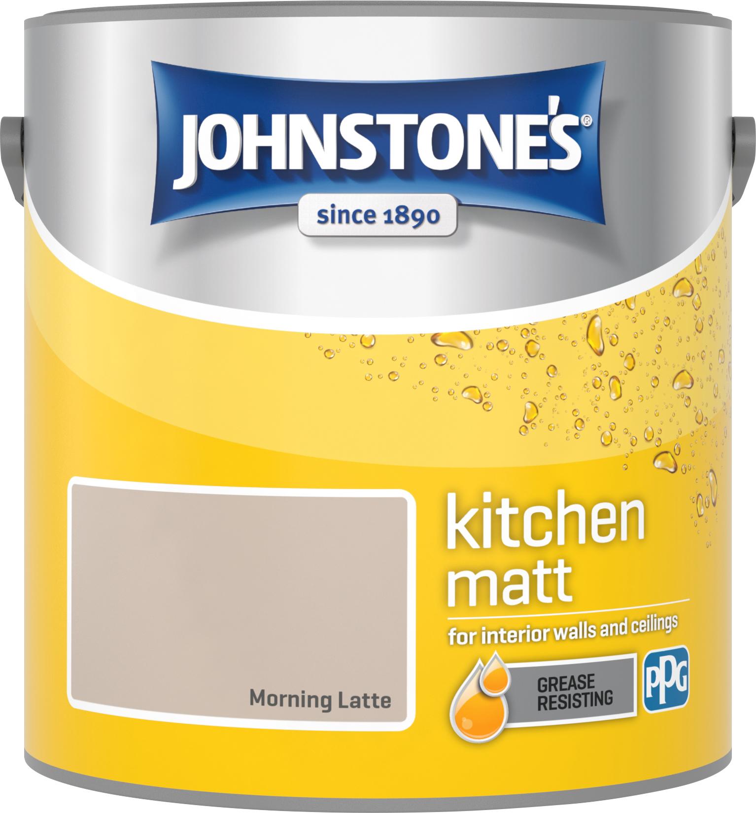 Johnstone's 2.5 Litre Kitchen Paint - Morning Latte