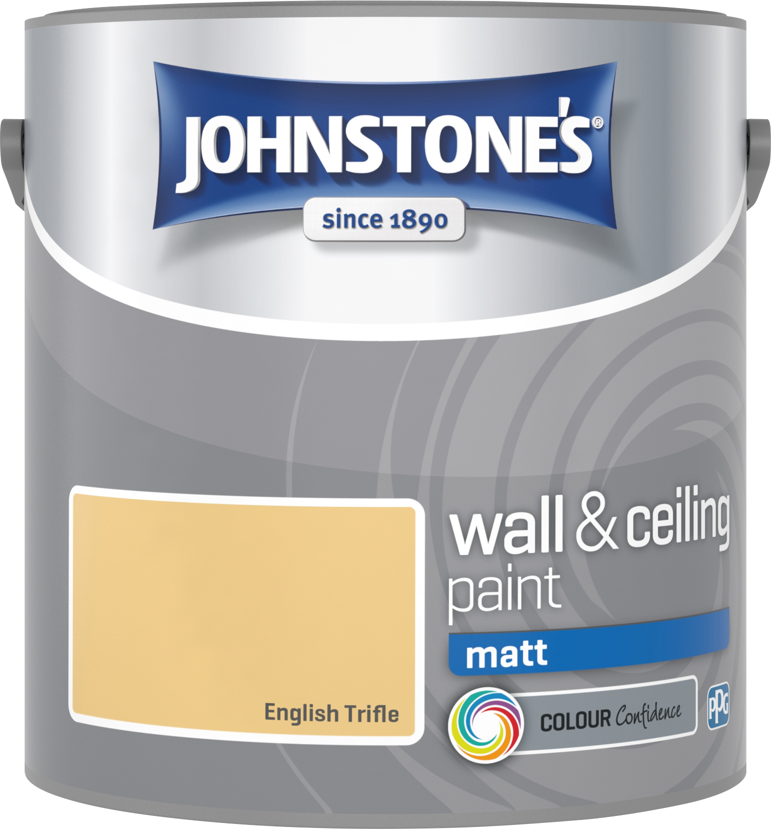 Johnstone's 2.5 Litre Matt Emulsion Paint - English Trifle