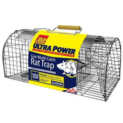 The Big Cheese Ultra Power Live Multi Catch Rat Trap