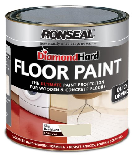 Ronseal Rsldhfpps25l Diamond Hard 2.5l Floor Paint - Pebble Stone