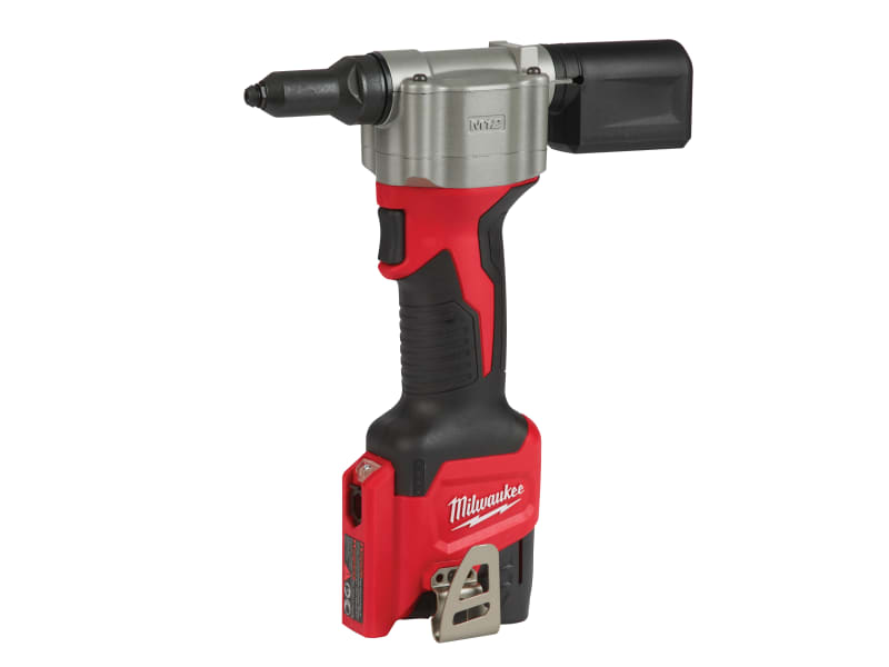 Milwaukee Pop Rivet Tool Kit 12V 1 x 2.0Ah Li-Ion