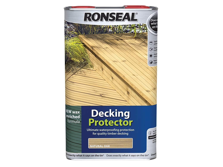 Ronseal Dpn5l Decking Protector Natural 5 Litre