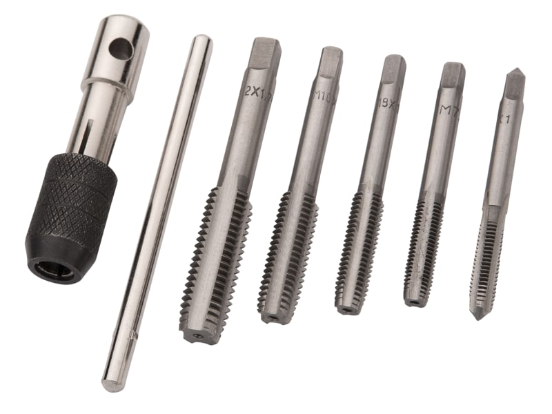 BlueSpot Tap Set (M6-M12), 6 Piece