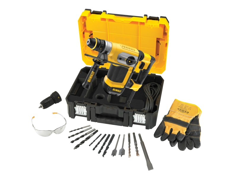DEWALT D25417KT 4kg SDS Plus Combination Hammer 1000W 110V