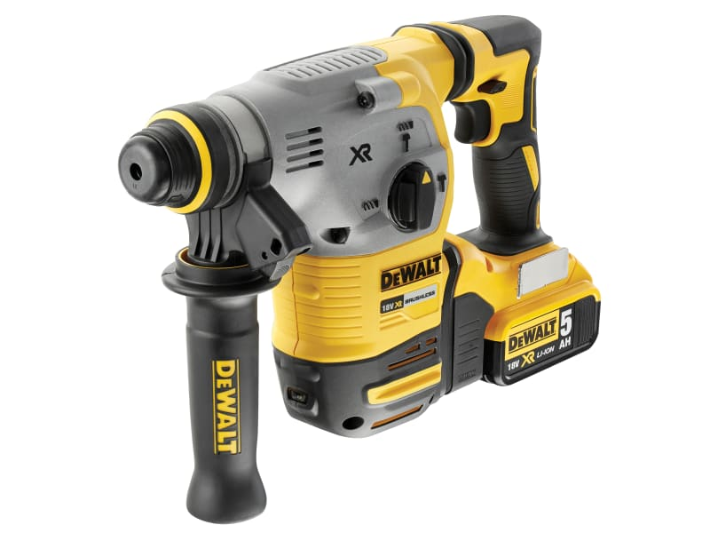 DEWALT DCH283P2 XR Brushless SDS Plus Hammer 18V 2 x 5.0Ah Li-ion