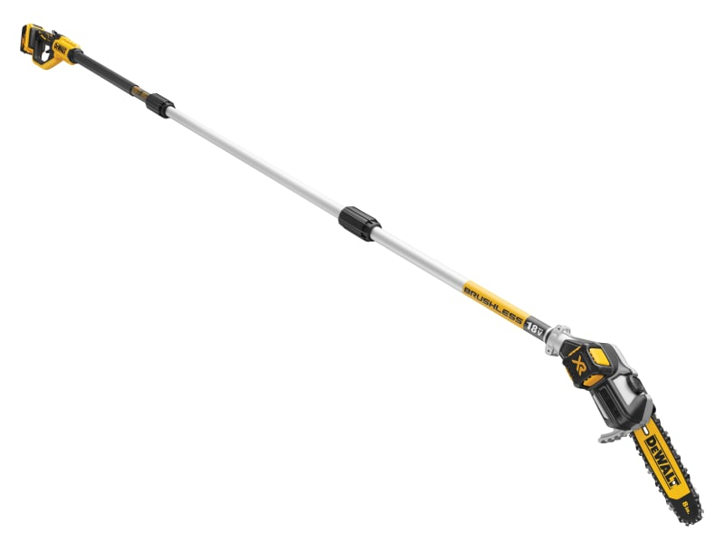 DEWALT DCMPS567P1 XR Brushless Pole Saw 18V 1 x 5.0Ah Li-ion