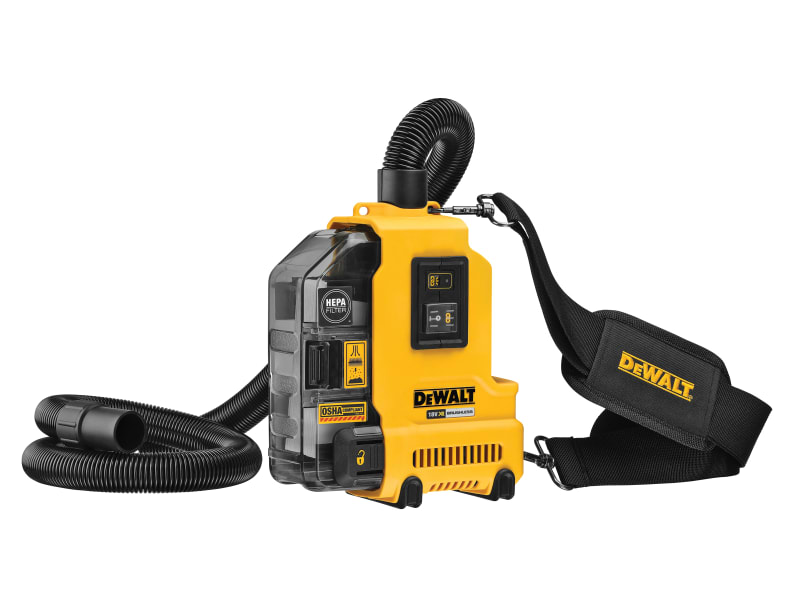 DEWALT DWH161N XR Universal Dust Extractor 18V Bare Unit