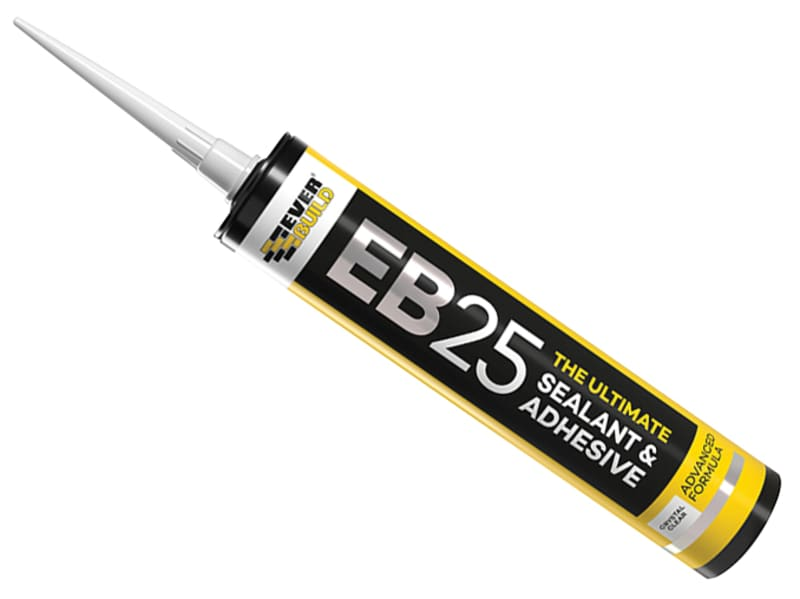 EverBuild EB25 Hybrid Sealant Adhesive Clear 300ml