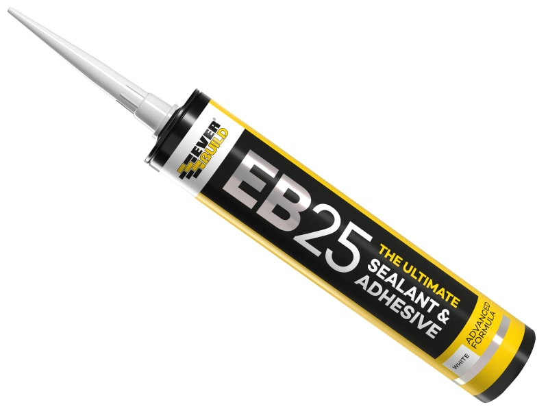 EverBuild EB25 Hybrid Sealant Adhesive White 300ml
