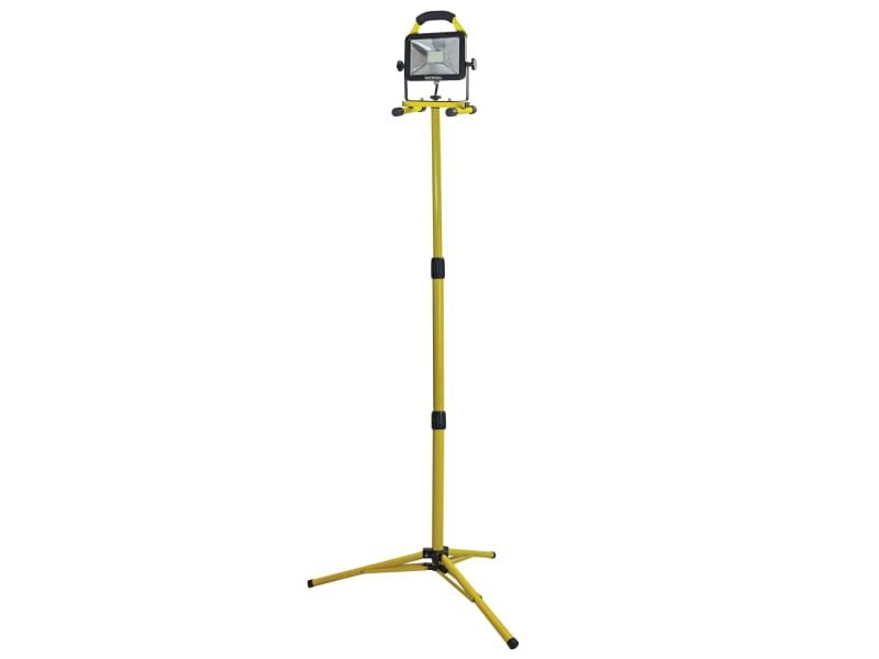 Faithfull Power Plus Site Light With Tripod 20w 1800 Lumen 110v