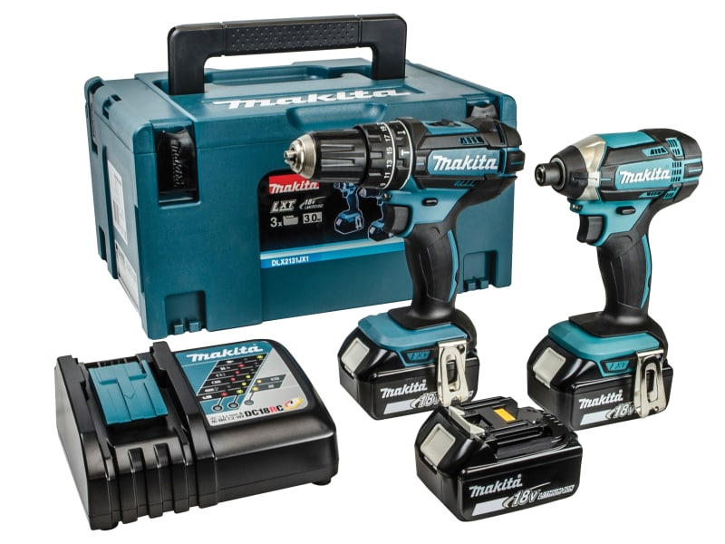 MAKITA DLX2131MJ1 LXT Twin Pack 18V 3 x 4Ah Li-ion
