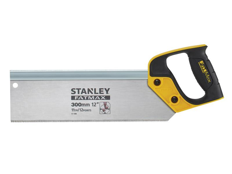 Stanley Fatmax Tenon Back Saw 300mm (12in) 11tpi