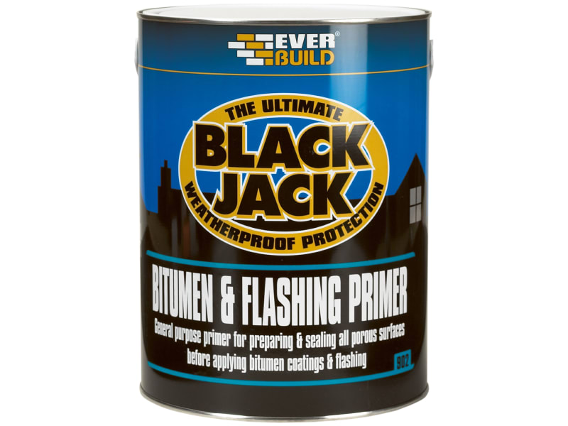 EverBuild Black Jack 902 Bitumen & Flashing Primer 5 Litre